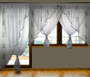 Firany Na Balkon I Okno Komplety Balkonowe Firany Gniezno
